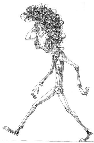 pdf man walking down the street screens