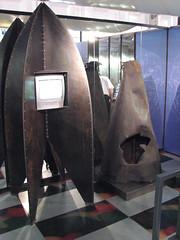V2: Deformierte Raketenspitze