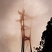 Sutro Tower in the Fog by von span