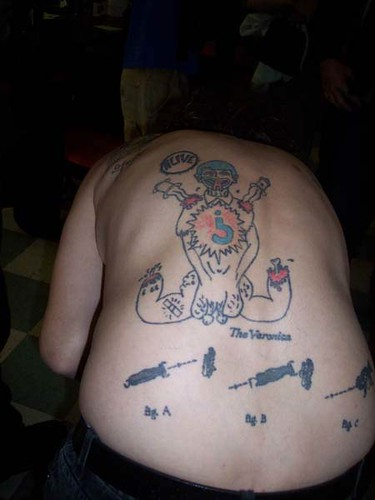 most unusual tattoo ever