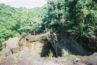 It's called a Zip Line.  It's meant to kill.