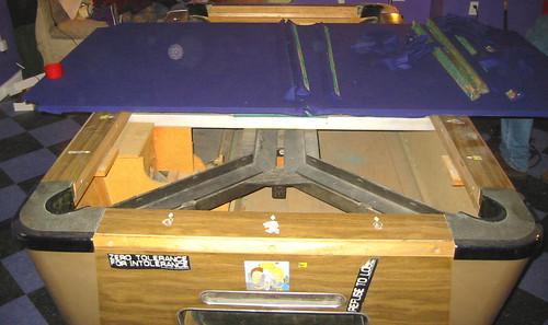 Przewóz stołu bilardowego