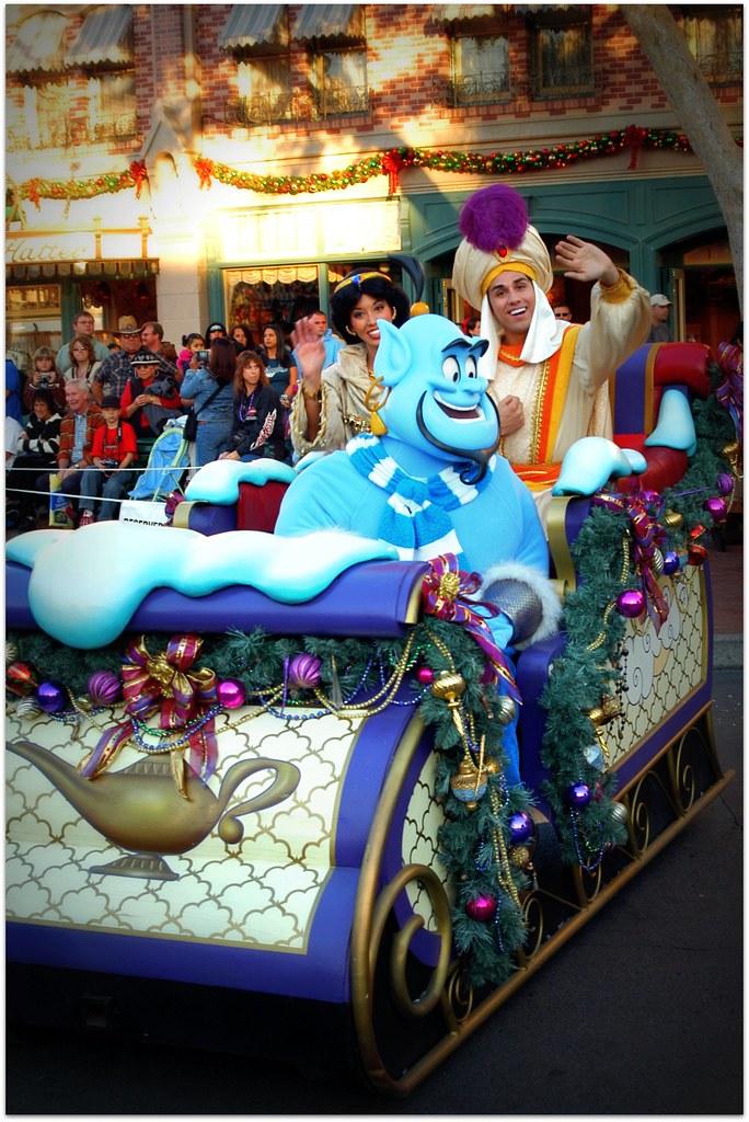 Aladdin ~ Christmas Parade