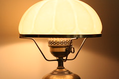 decor, lamp, light fixture, yellow, lampshade, light, lighting,