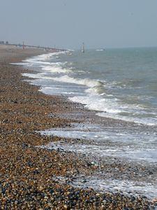Typical south coast beach