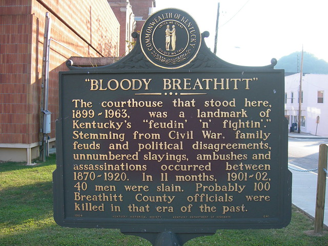bloody breathitt historic marker flickr photo sharing