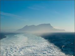 Gibraltar desde el ferry
