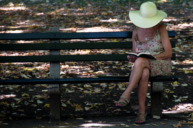 Reading alone. Nearly 40 percent of women in the United States have never ...