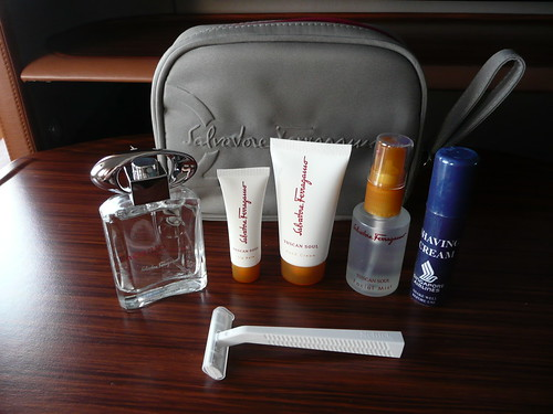 Singapore Airlines First Class Toiletry Kit