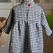 check tunic dress back by smallvilleshop