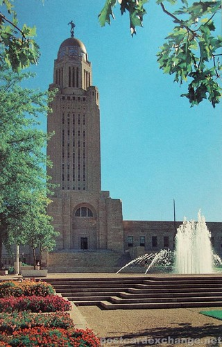 The State Capitol in Lincoln, Nebraska