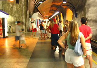 Metrô do Rio de Janeiro - Brasil - Subway - Brazil