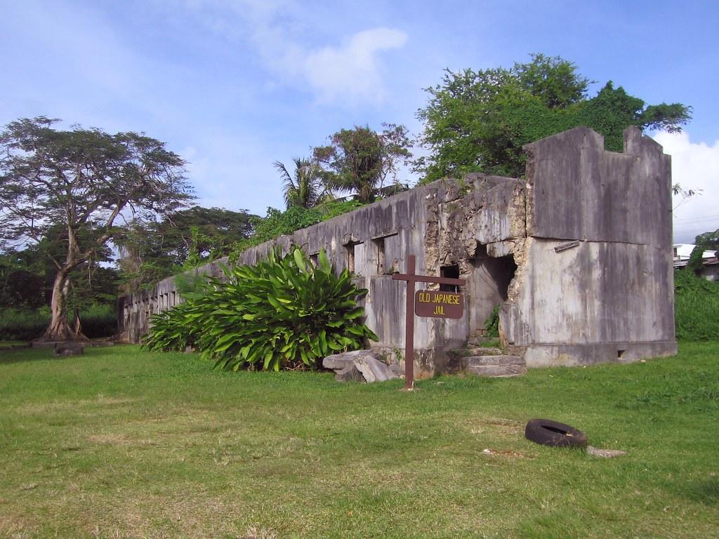 carcel abandonada Saipán