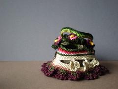 Accord ... Freeform Crochet Cuff