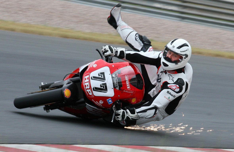 Schumacher hurt in 230kmh bike crash car Micheal motors