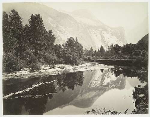 Mirror View, Yosemite, North Dome.
