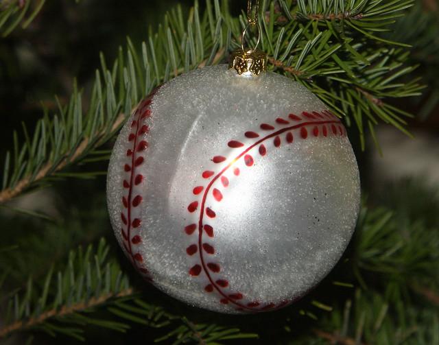 Christmas Tree Baseball Ornament 3 | Flickr - Photo Sharing!
