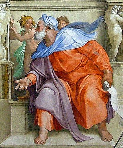 Cappella Sistina, Prophet Ezekiel