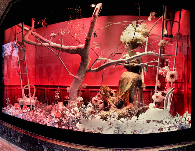 Vitrine de no l galeries lafayette 13 12 2008 8h55 flickr photo sharing - Vitrine de noel paris ...