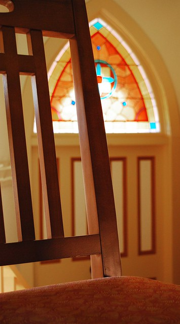 Auburn University Chapel A Closeup Of A Chair In The Chape Flickr Photo Sharing