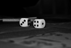 indoor games and sports, white, sports, tabletop game, monochrome photography, games, dice game, close-up, dice, monochrome, black-and-white, black, board game,