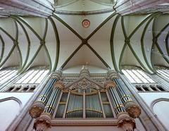 Het orgel in de Domkerk te Utrecht