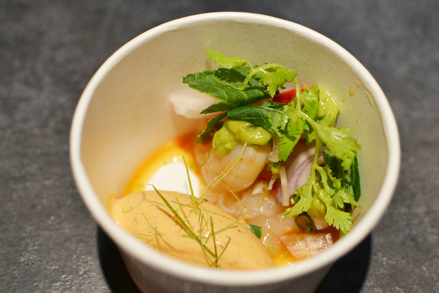 Frozen Red Curry with Prawn and Coriander Salad, Savour 2014