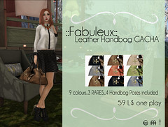::Fabuleux:: Leather Handbag GACHA