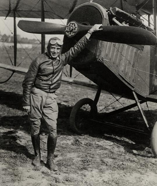 Airmail pilot Eddie Gardner