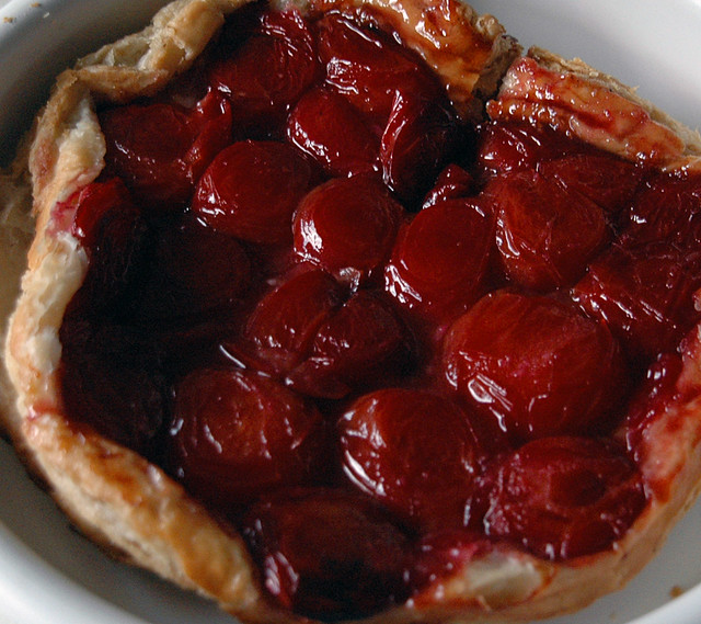 Plum Tarte Tatin Recipe — Dishmaps