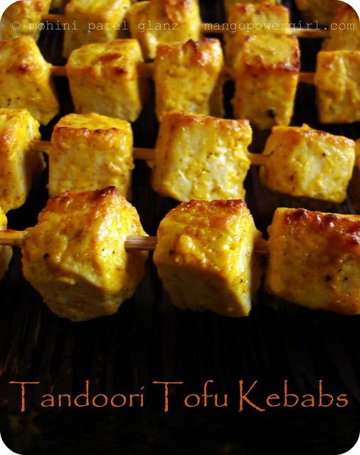 Tandoori Tofu Kebabs – mangopowergirl