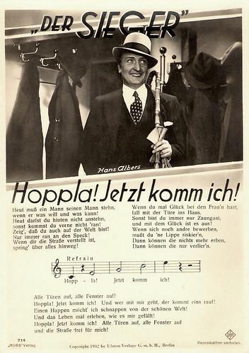 Hans Albers, Der Sieger