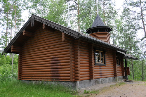finland karstula часовня säässynä tšasovnja