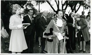 Mayor Dash with Sonia and William McMahon, April 22, 1971