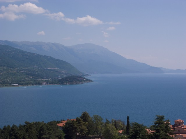 View from Ohrid by CC user hanspoldoja on Flickr