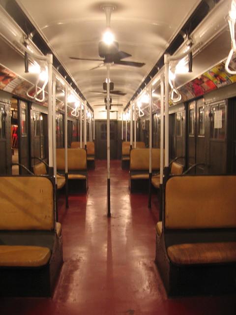 old subway cars interiors new york transit museum flickr photo sharing. Black Bedroom Furniture Sets. Home Design Ideas