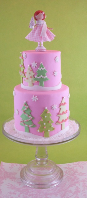 Christmas Lolli-doll cake