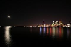 Toronto & the moon