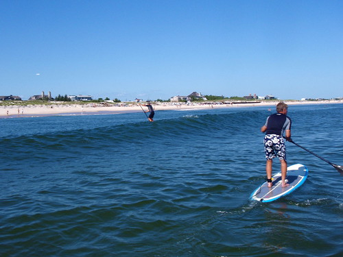 Standup Paddle Boarding at Flying Point Beach