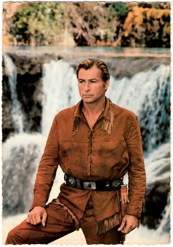 Lex Barker in Old Shatterhand