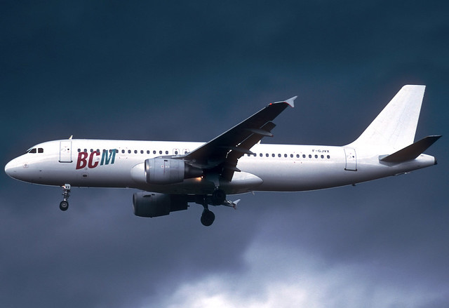 BCM A320-211 F-GJVX GRO 28/08/1997