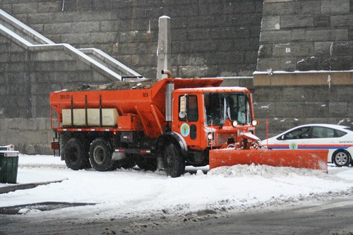 Plows above 57th?