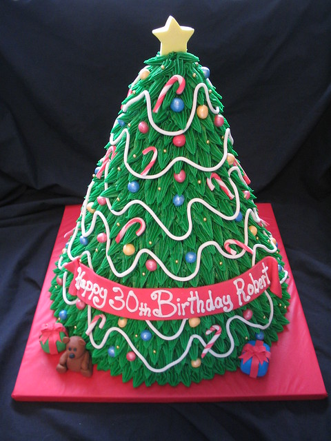 3D Christmas Tree cake, Canon POWERSHOT A310
