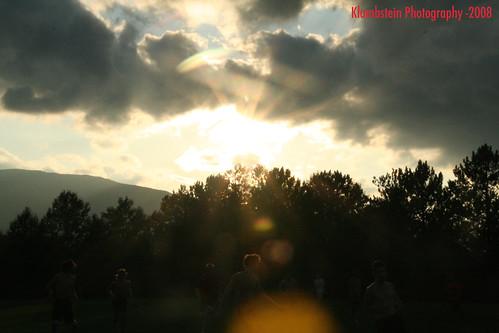 sunset ultimate sunflare ultimatefrisbee