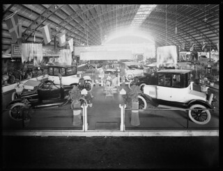 Olympia Motor Show, King Edward Barracks, Christchurch, November 1921