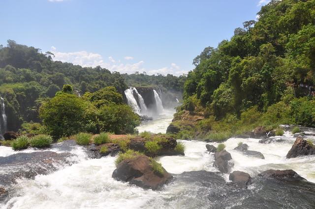 Mike Vondran at Iguassu Falls, Brazil, December 28 2008. by over_kind_man, on Flickr