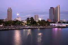 Manila Bay after sunset