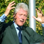 bill clinton in jtown