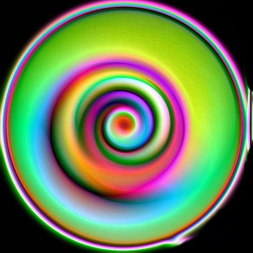 Colour spiral (Colour invertion)