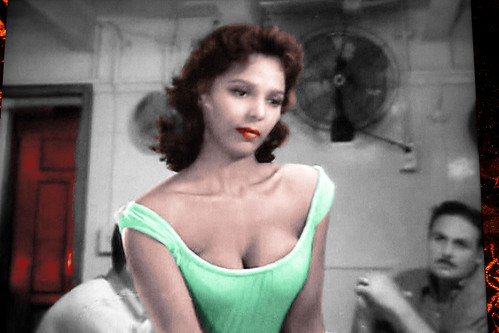 Actress Dorothy Dandridge TV Shot